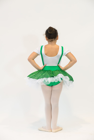 Tutu Paillettes Green